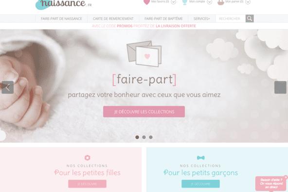 Refonte du site naissance.fr