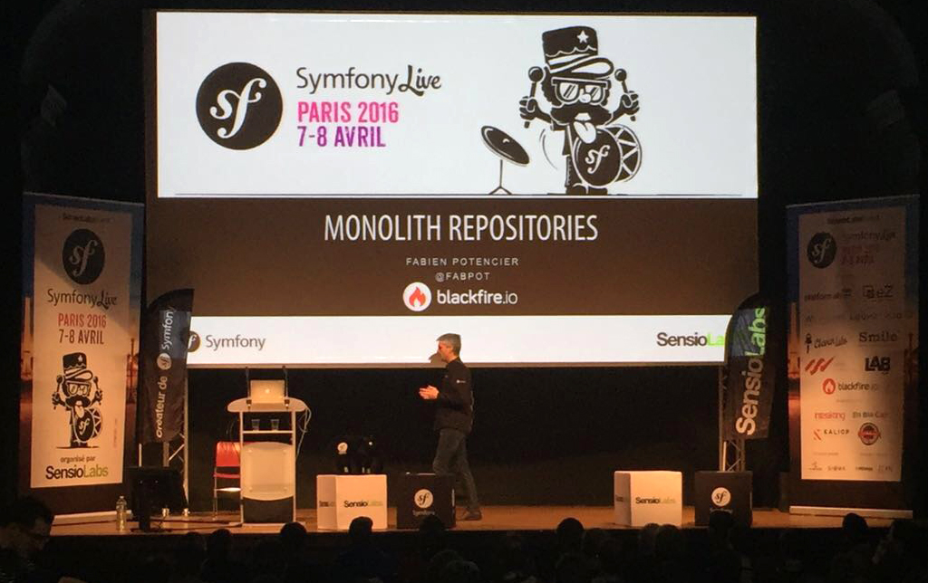 Fabien Potencier Monolith Repositories